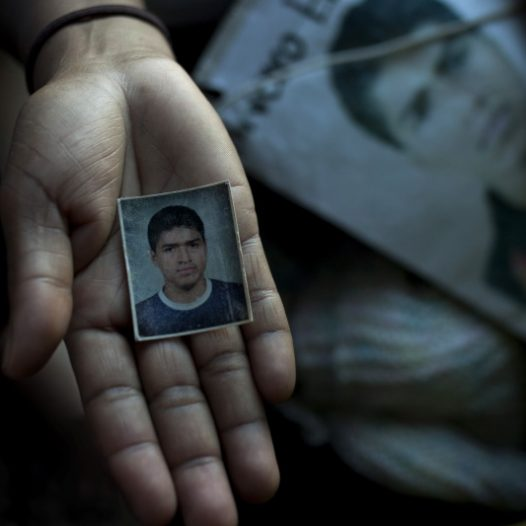 Mexico, October 2012  Caravan of Central-American mothers looking for desaparecidos, migrants who disappeared during the transit through Mexico A mother from Nicaragua shows a photo of his son disappaered in Mexico Since 2006, at the beginning of the fight against the drug cartels, the risks for migrants crossing the Mexican territory have increased. Because of their illegal condition, migrants are invisible victims of kidnappings, violations, robberies, and exploitation from criminal organizations, often hand and glove with local authorities. Most of these crimes are unknown by the public opinion and stay unpunished. Every year a group of Central-American mothers covers Mexico from South to North looking for their missing relatives, disappeared in their attempt to reach the United States. Dark Passage is a project about the long and difficult odissey that thousands of migrants face in the Mexican territory, in their attempt to reach the United States.