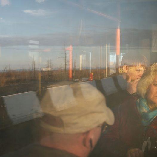 La période de jours polaires s'accompagne de beau temps et de températures agréables. Les habitants de Norilsk profitent au maximum de cette possibilité de vivre en extérieur, se promenant jusqu'au milieu de la nuit.