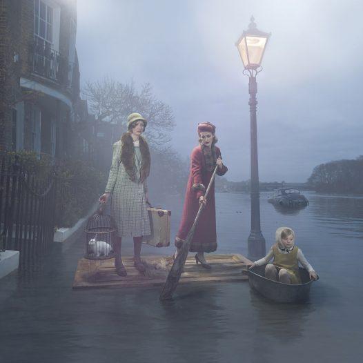 Flood on the Thames, 2018