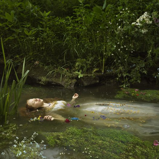 Ophelia after Millais, 2018
