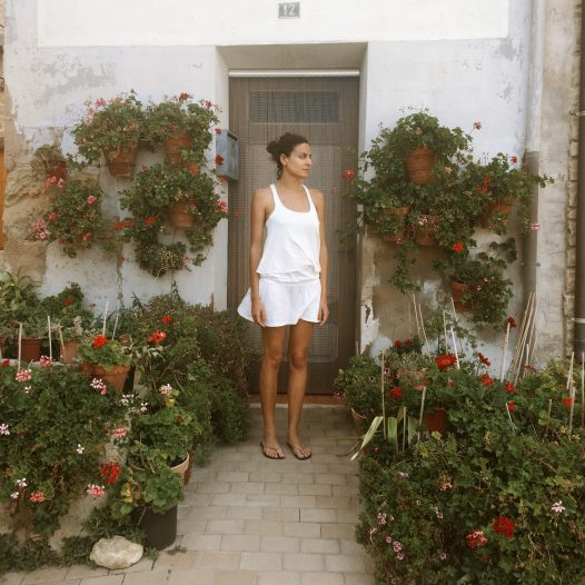 Eva lives in un small village in Spain called Cambrils, she is an interior decorator