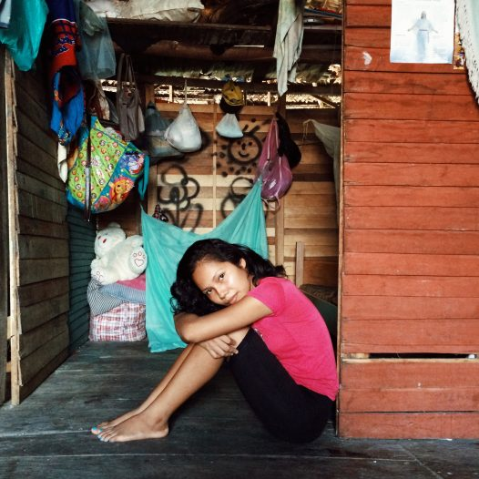 Ivete (18), student, lives in Iquitos, Peruvian amazon. She takes care of her 4 younger siblings