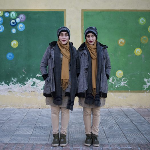 Ameneh and Sajedeh, 20 years old, both students of medical engineering