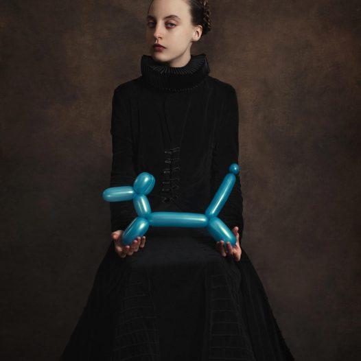 Blue Dog Baloon
