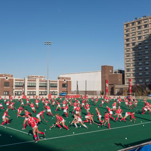 Field Hockey Game, Boston University