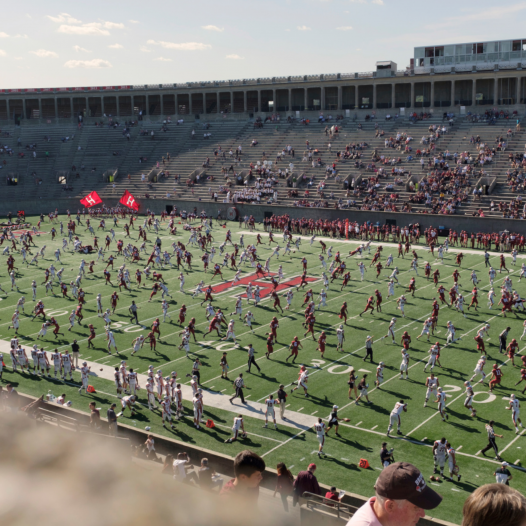 Football Game, Harvard