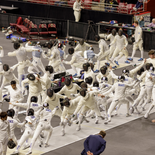Men's Fencing at Boston College