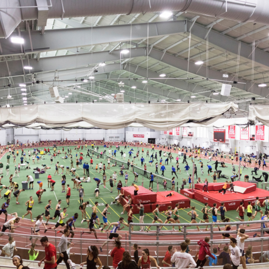Track Meet, Boston Universit