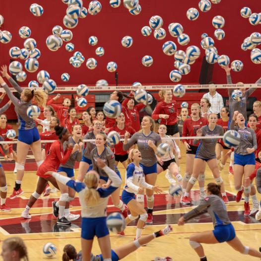 Volleyball at Northeastern University