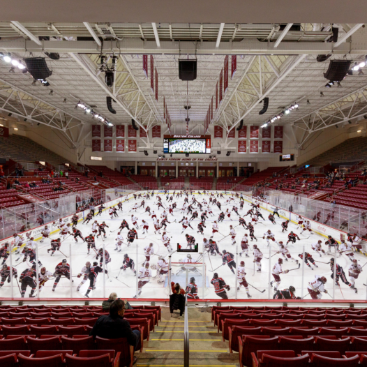 Women's Hockey Game, Boston College